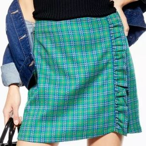 Topshop frill mini skirt size 6 and 8 available